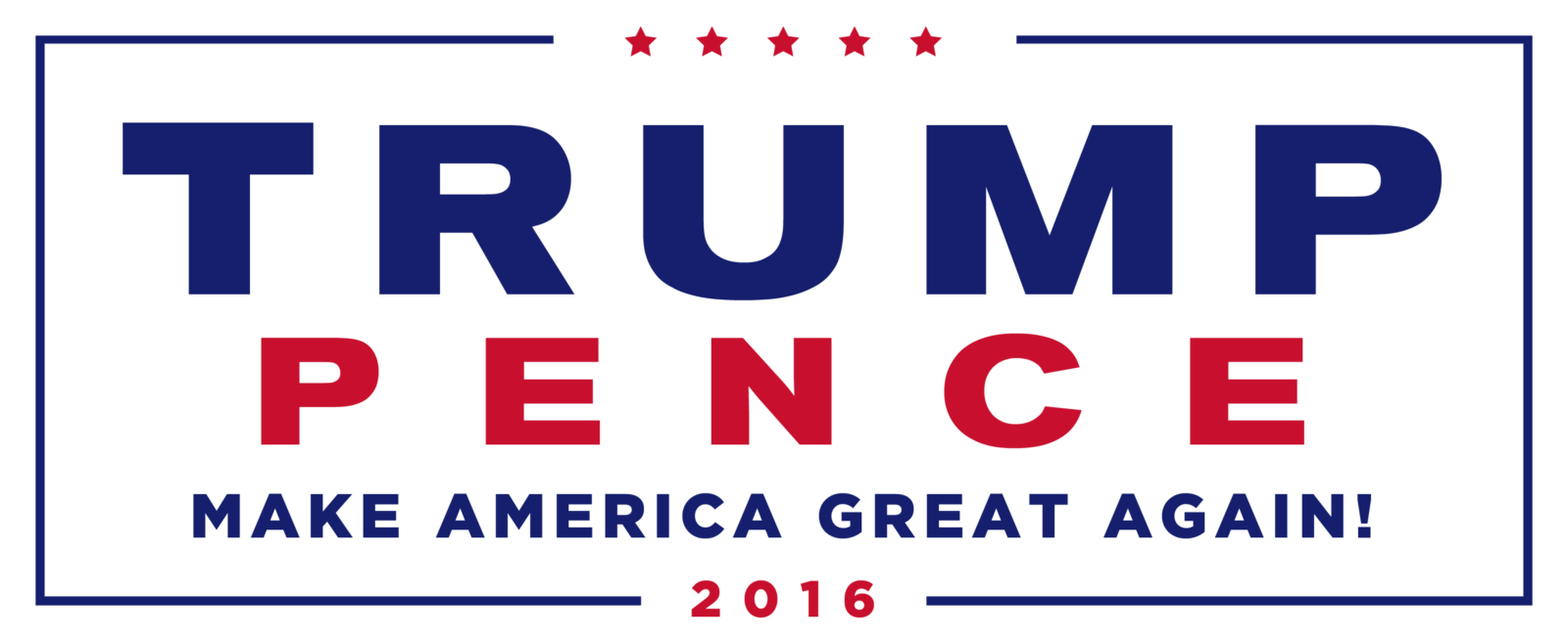 Image of Trump Pence Logo