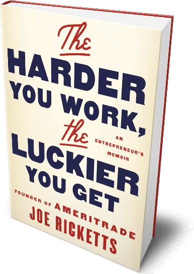 Image of The Harder you Work, The Luckier You Get